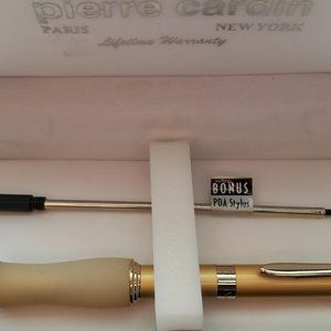 Pierre Cardin boxed gold pencil gift set new